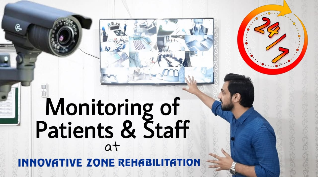 Monitoring of patients and staff at Rehab Centre
